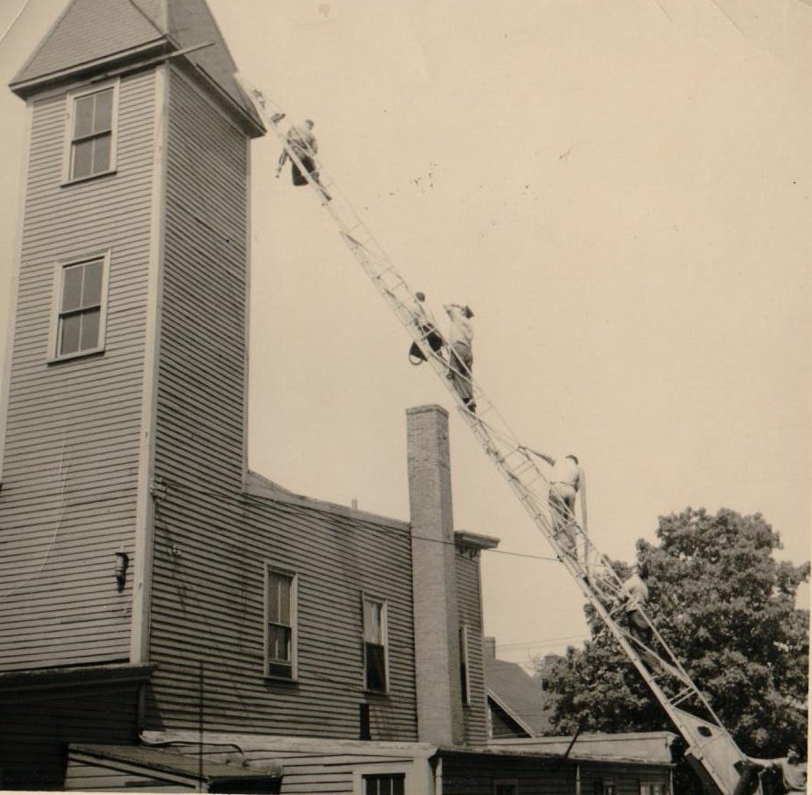 Swampscott Fire Department 1914 Photo reprint
