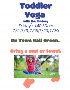 Image is od two children doing yoga in a park. One child has a red shirt and blue pants on, and the second child is wearing a gray shirt with blue pants. They are doing breathing exercises whilst sitting on the green grass.