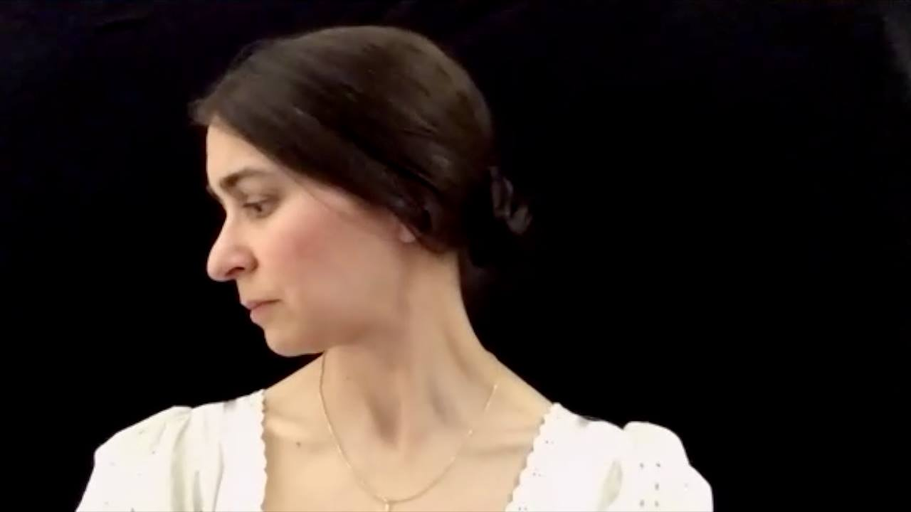 Julie Butters as Jane Eyre