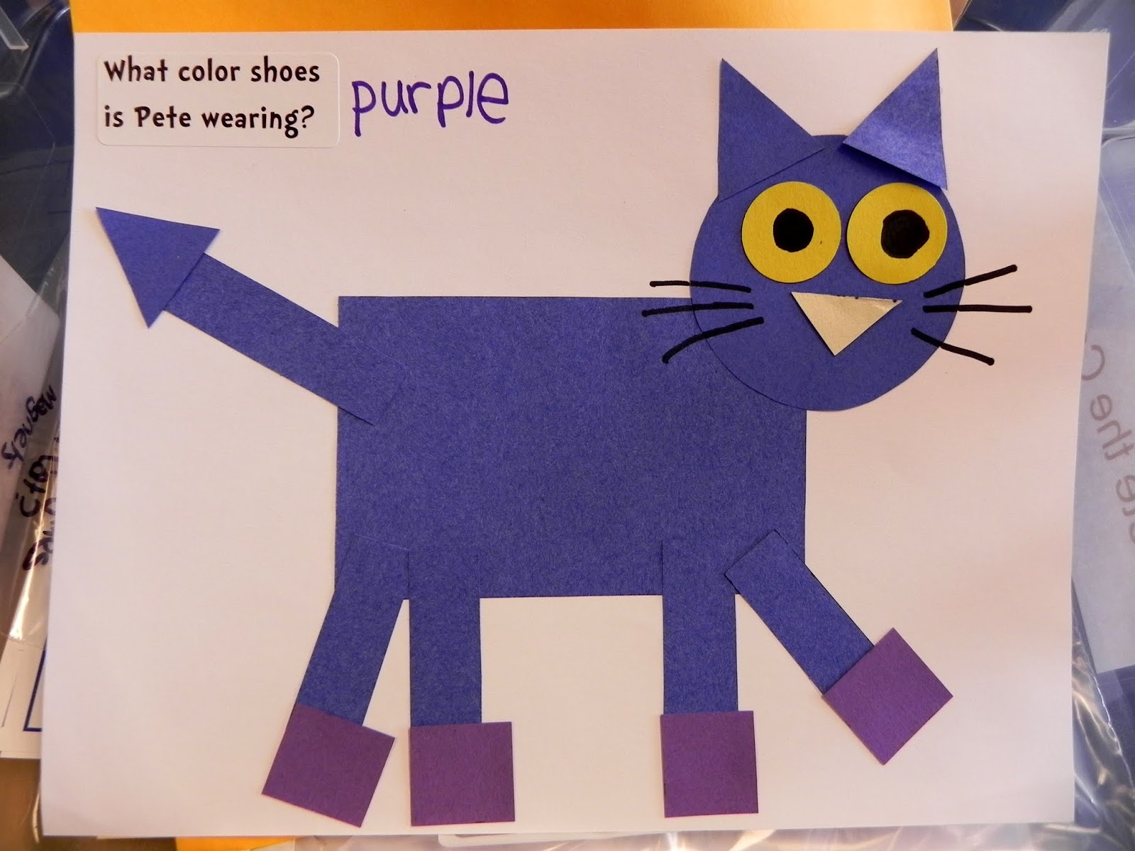 Pete The Cat Out Of Shapes Swampscott Public Library