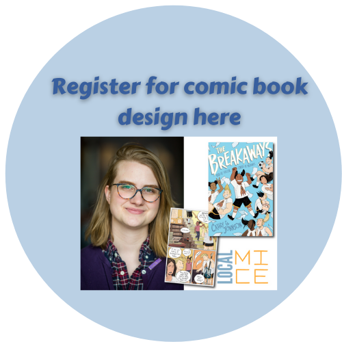 Sign up here for comic book design